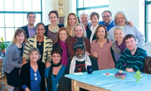 Alex and GHAA faculty members with Ben Vereen in March 2014.